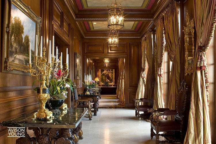 asherwood estate main hallway