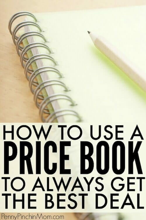 grocery pricebook